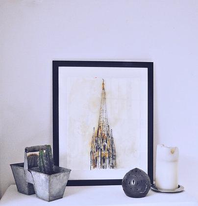 La flèche Saint Michel