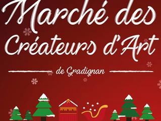 Le 1er marché des Créateurs d'Art de Gradignan