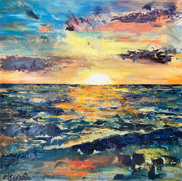 """""""The Thought of the Sea"""" by Isabel Shankle"""