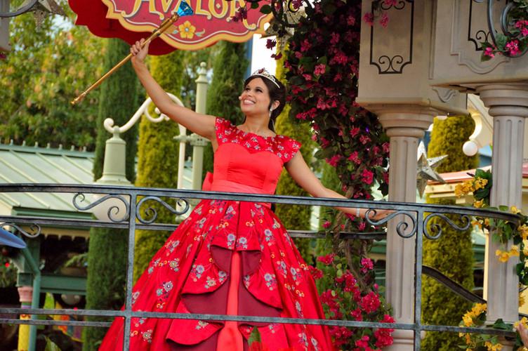 Princess Elena's Musical Grand Arrival at Disney California Adventure