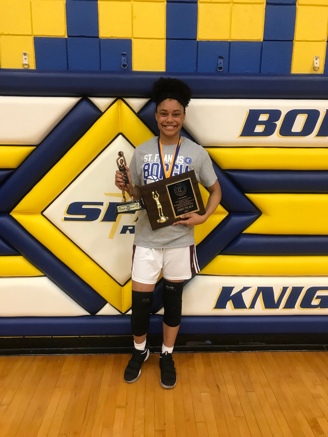Cardinal Ritter's Deanna Wilson earns MVP honors in the St. Borgia Tournament