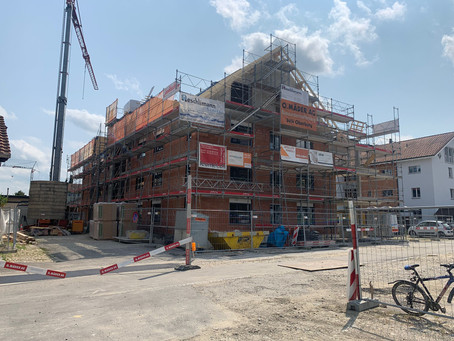 Neubau MFH Sunnepark Oberburg - 44. Bauwoche