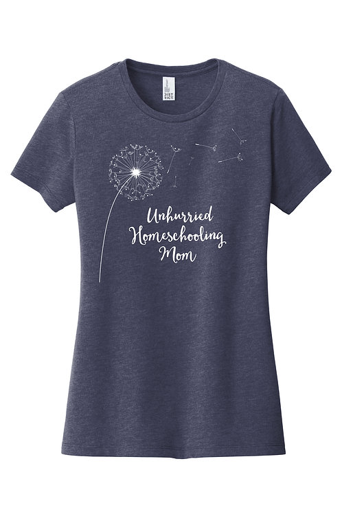 Unhurried Homeschooling Mom T-shirt