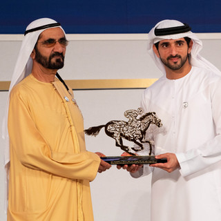HH HORSERACING EXCELLANCE AWARDS & 24TH DUBAI WORLD CUP WELCOME RECEPTION