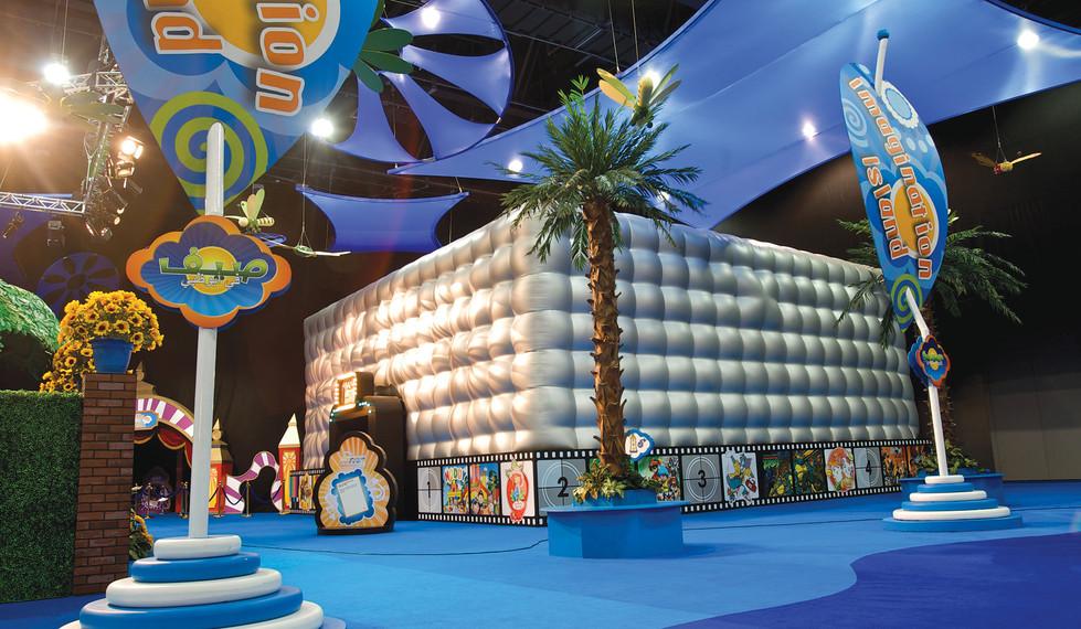 Summer in Abu Dhabi