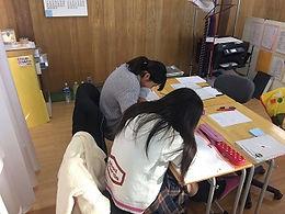 個別指導Clear の授業風景