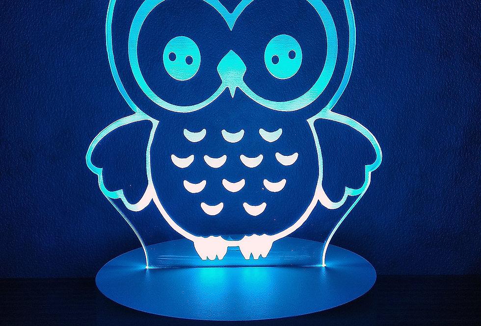 Owl (blue)
