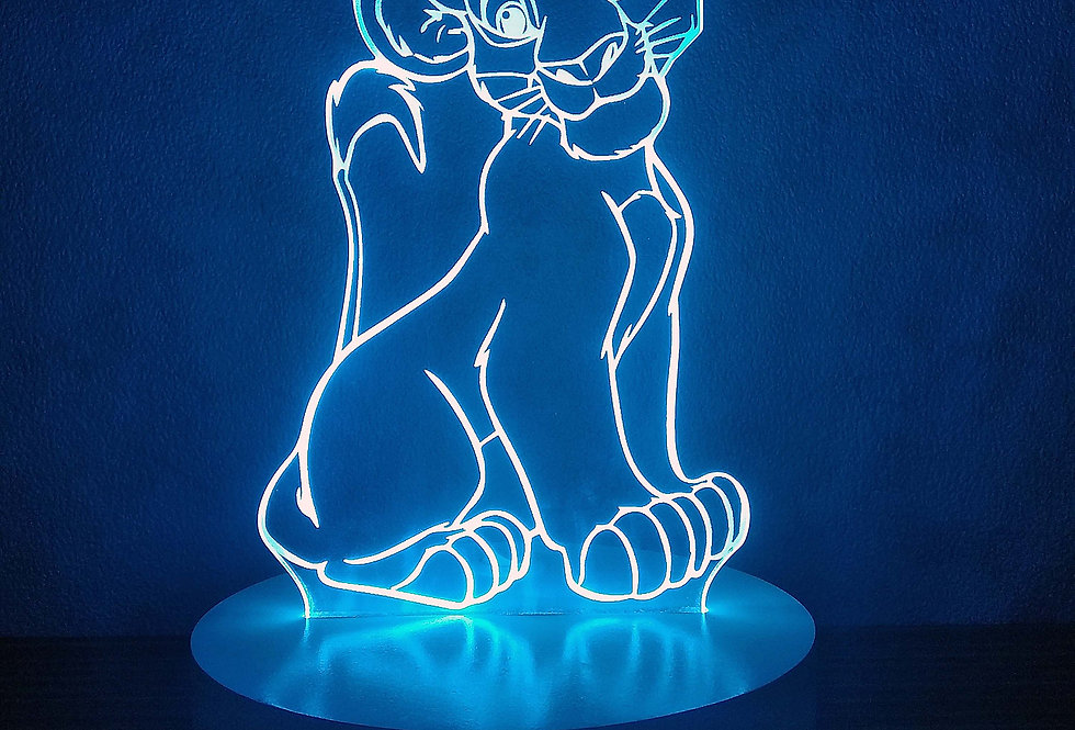 Lion Cub (blue)