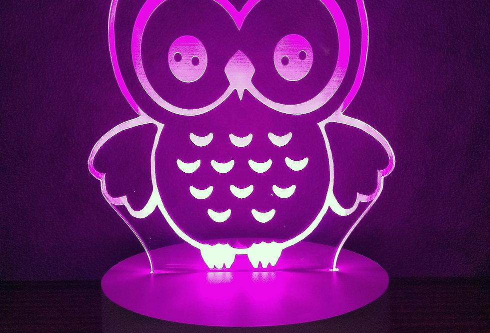 Owl (pink)