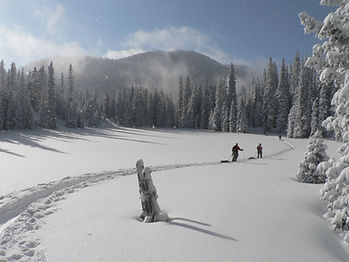 Cross-country skiing and skiing in Potlatch, Idaho and Potlatch community