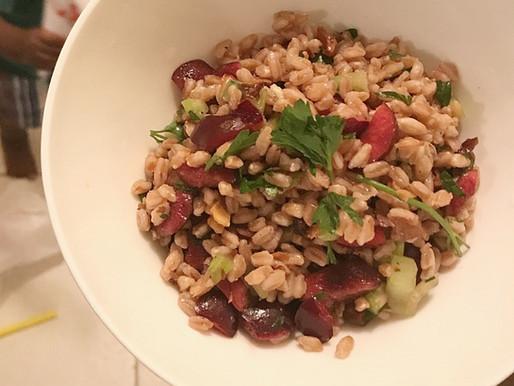 Eatin': Cherry & Farro Salad