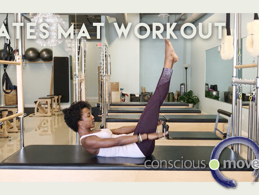 Pilates Mat Workout: Plank Variations