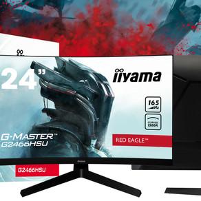 iiyama G-Master Curved Red Eagle Monitor (G2466HSU-B1)