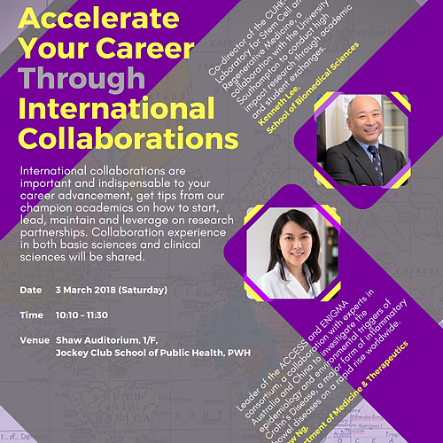 Accelerate Your Career Through International Collaborations