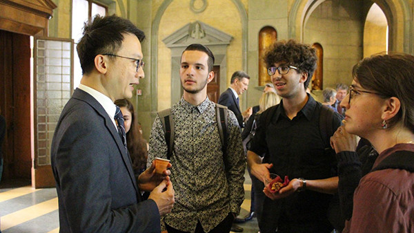 CUHK delegates at the University of Bologna