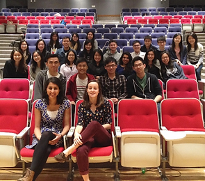 CUHK-Oxford International Teaching Scholarship Recipients in Hong Kong