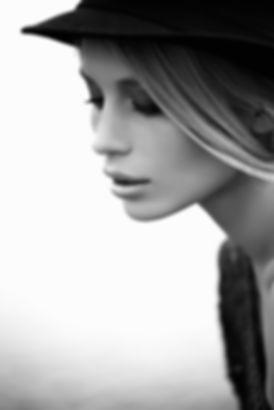 Modello in bianco e nero