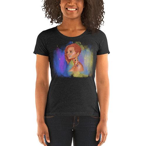 Flowers on Moonbow Ln- Short sleeve t-shirt