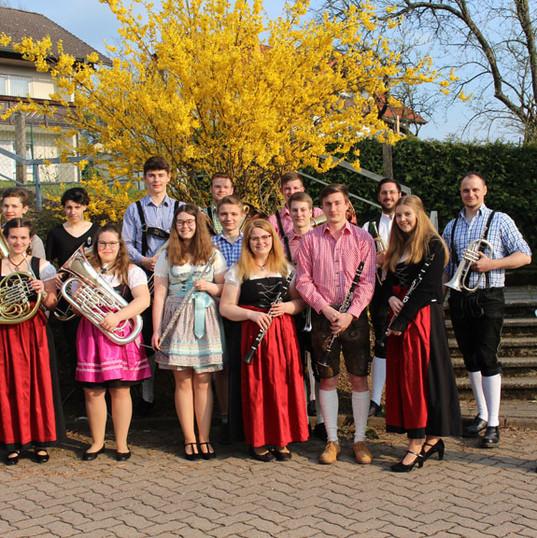 2019.04.06-Frühjahrskonzert in Roßbach-Gruppenfoto