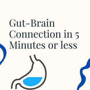 Gut-Brain Connection in 5 Minutes or less!