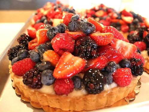 """7"""" Fresh Fruit Tart"""