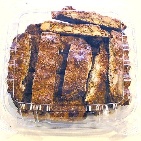Quaresimali (Whole Almond Cinnamon Biscotti)