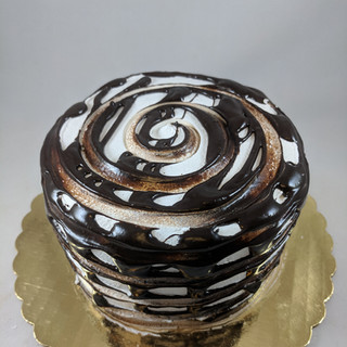 Vanilla and Chocolate Custard