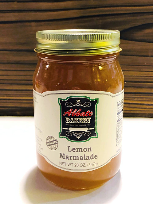 Lemon Marmalade Jam