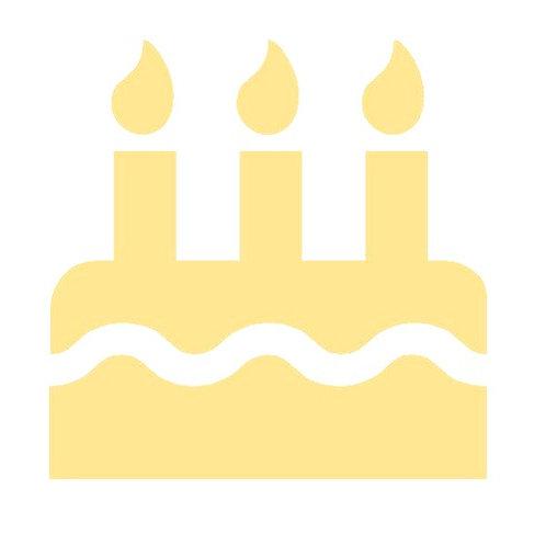Square Vanilla Cake (Custom)