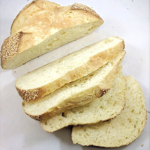 Seeded Semolina Round Bread (Sliced)