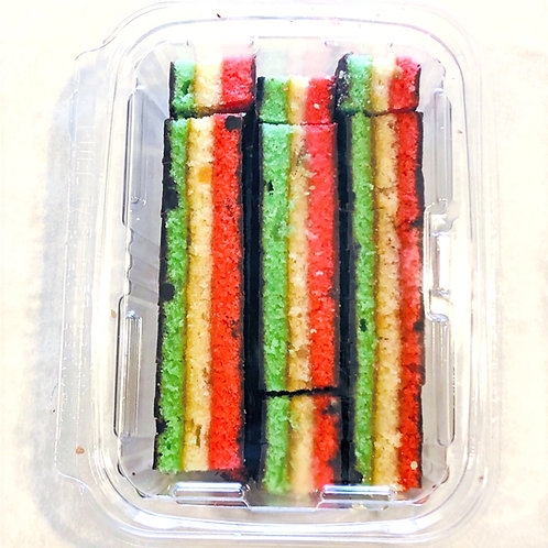 "7 Layer ""Rainbow"" Cookies"