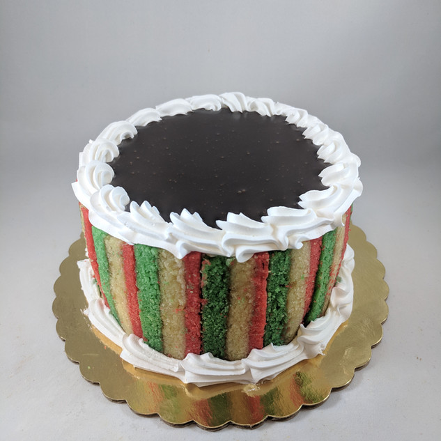 7 Layer Cannoli Cake
