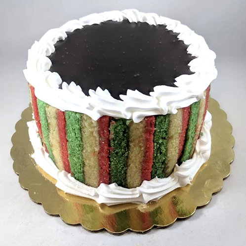 7 Layer Cannoli Cake