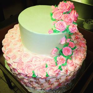 Custom Pink Rosettes