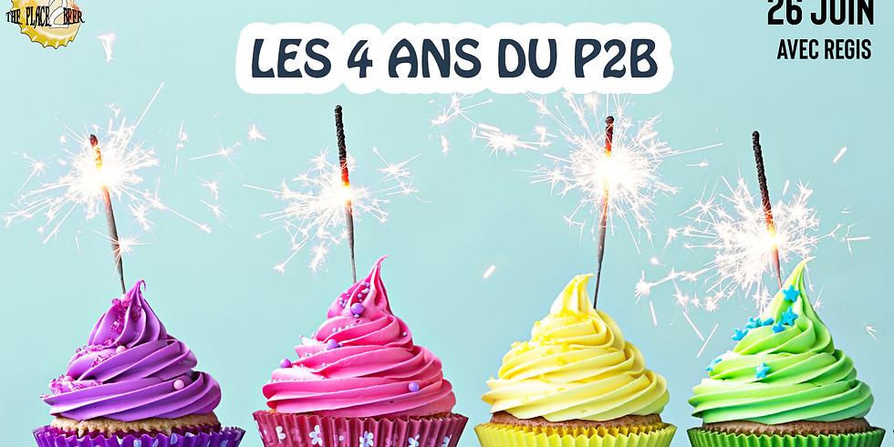 Les 4 ans du P2B