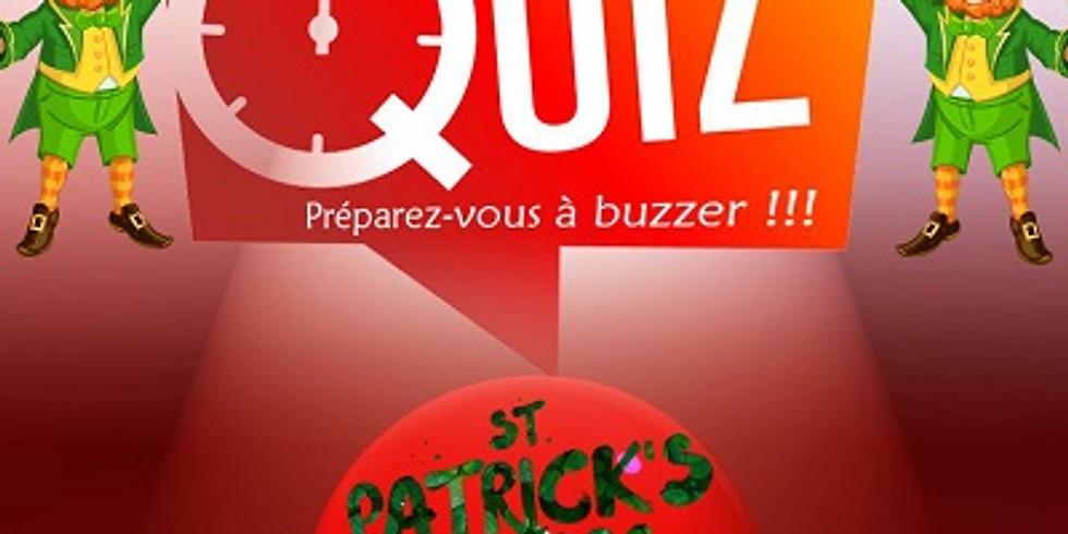 The Place 2 Quiz Spécial St Patrick