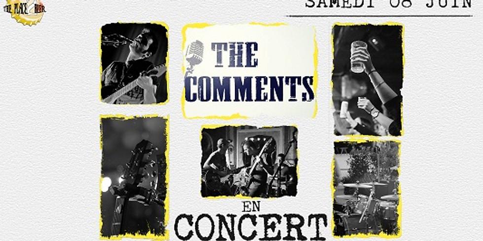 """Soirée Concert """"The Comments"""""""