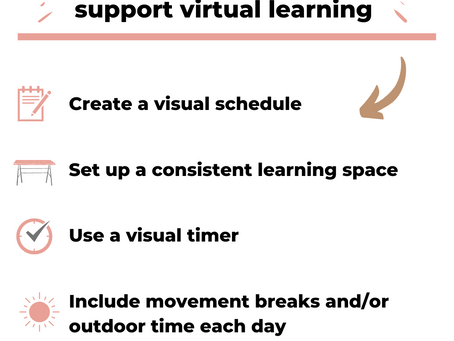 Using Routines to Support Virtual Learning