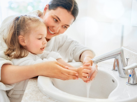 Teaching Your Kids Mindful Handwashing