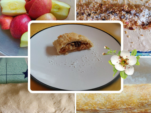 Apple Strudel (My Healthy Version)