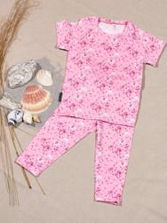 Blumenshirt in pink