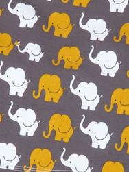 Elefanten senf/weiss