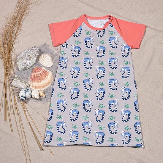 Raglanröckli Lemuren, oder Shirt Lemuren