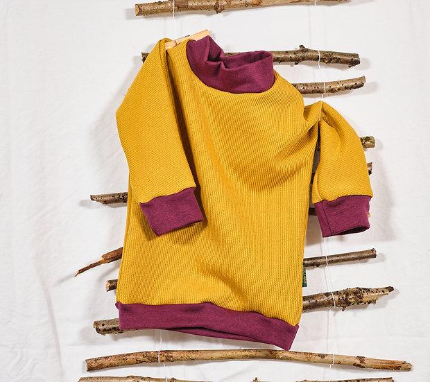 Pullover Strickoptik mit Bündchen