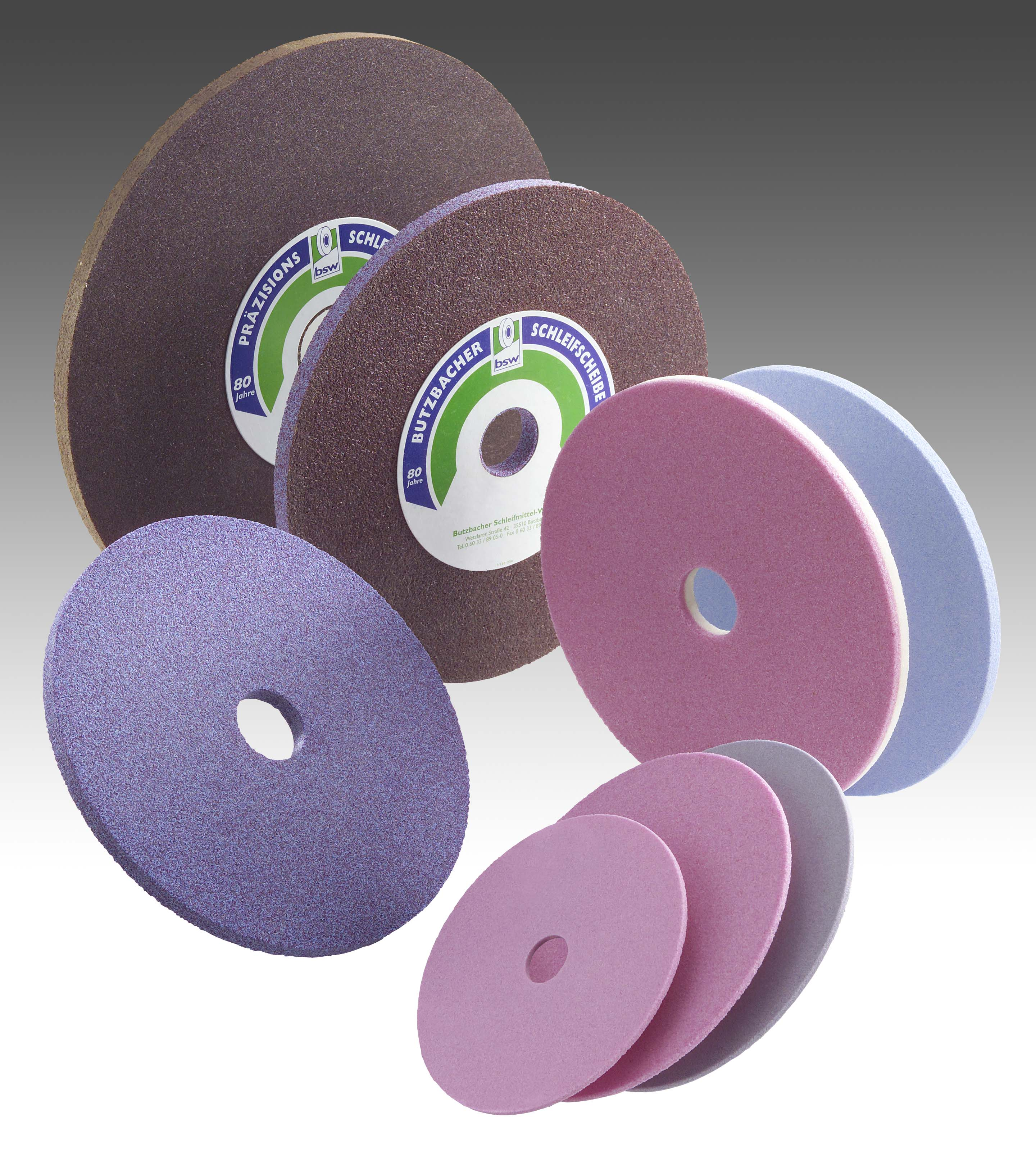 Saw grinding wheels