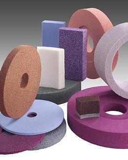 keramische und kunstharzgebundene Schleifscheiben und Segmente
