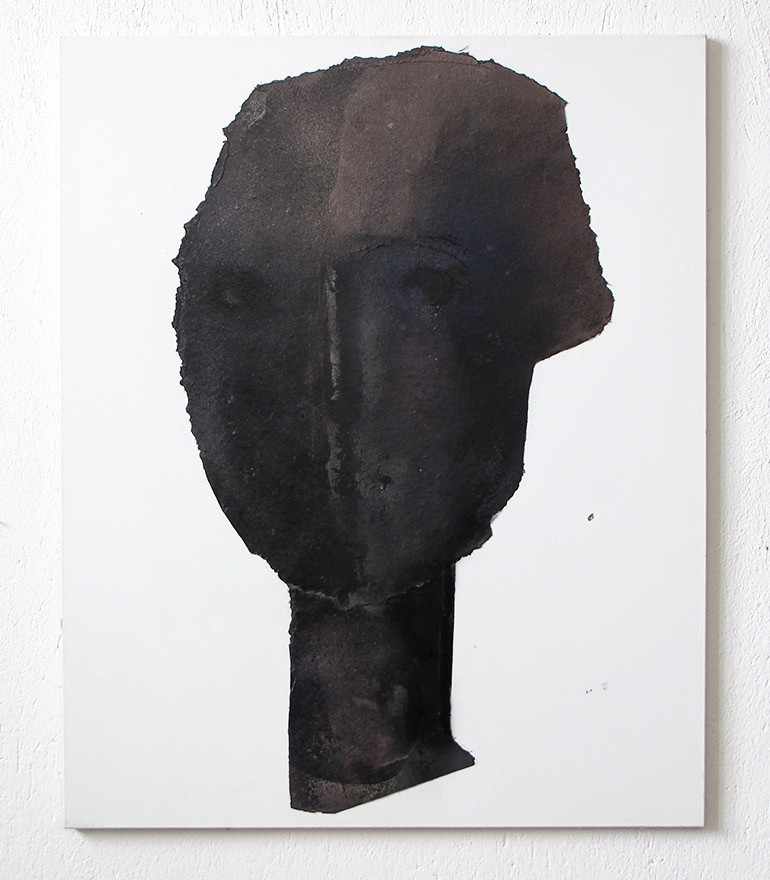 Abstract Portrait in Black