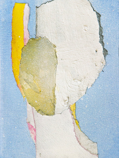 On the Blue - art print
