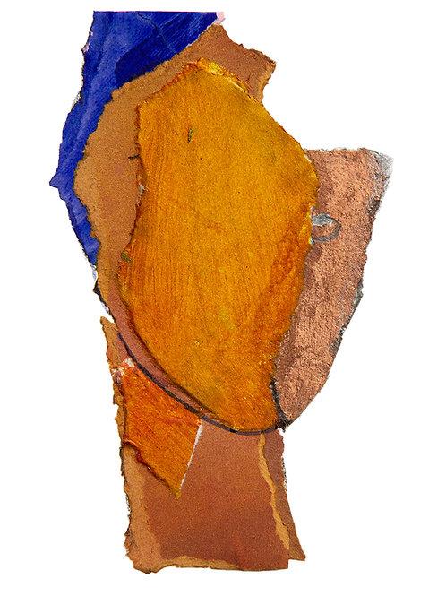 Burnt By The Sun - art print