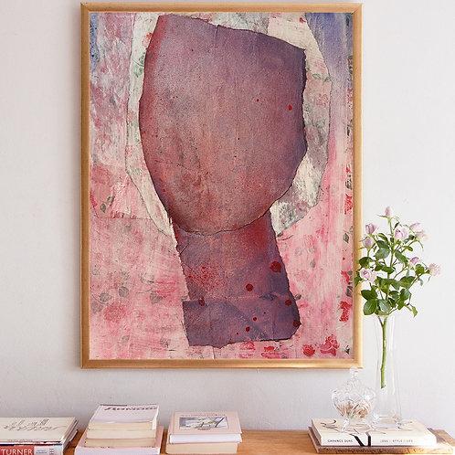 Rose Portrait - art print